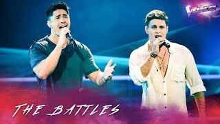 The Battles: Brock Ashby v Jackson Parfitt 'Waves' | The Voice Australia 2018