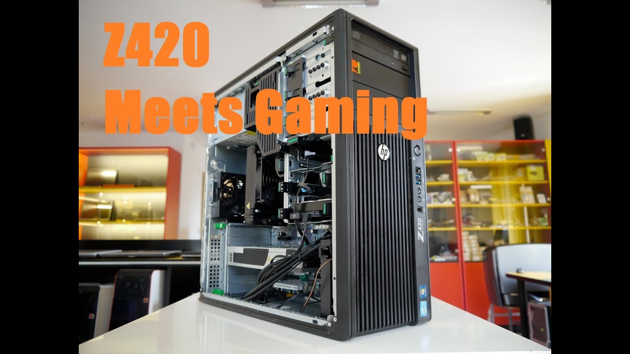 $284 HP z420 Workstation Build for gaming with Bechmarks (Xeon e5-1620 AMD  HD 7950)