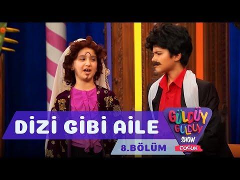 Güldüy Güldüy Show Çocuk 8. Bölüm, Dizi Gibi Aile Skeci