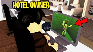 Hotel Owner Had CAMERAS.. He TRAPPED Hotel Guests! (Roblox)