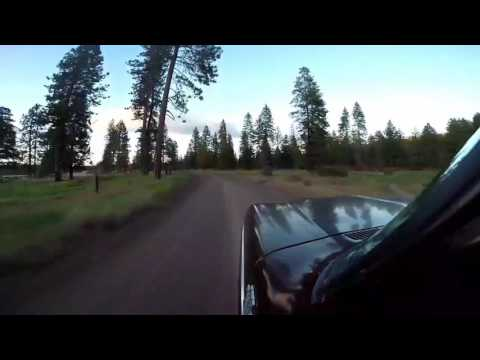 A drive down lake shore drive around upper Klamath lake to hwy 140 west