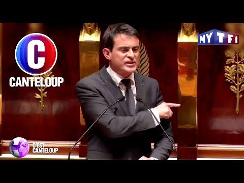 C'est Canteloup - Manuel Valls pousse un coup de gueule