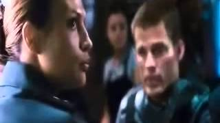 Starship Troopers 3 men and woman hung for being anti-government