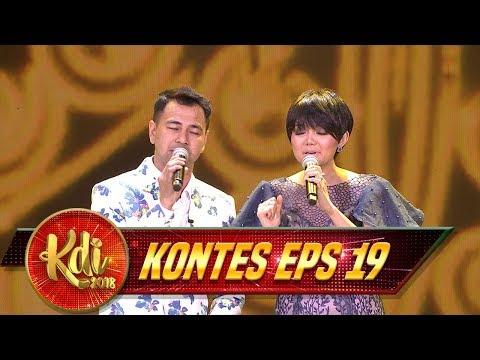 Duet Sempurna, Raffi Ft  Rina Shara [50 TAHUN LAGI] - Kontes KDI Eps 19 (30/8)