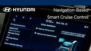 Navigation-Based Smart Cruise Control | TUCSON | Hyundai