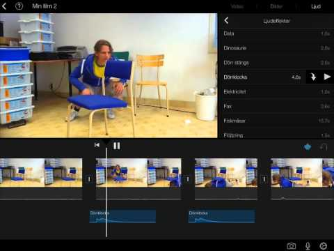 how to add music to imovie on ipad