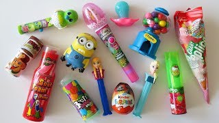 Mixing crazy candy opening toy candy dispensers gumball machine