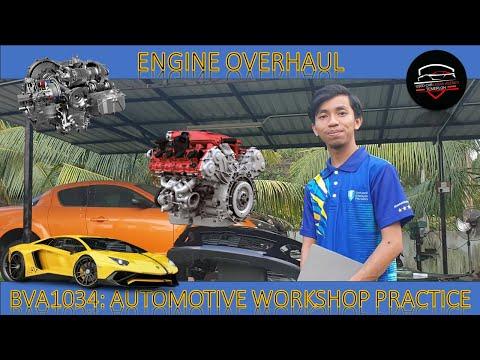 UMP ENGINE OVERHAUL (BVA1034: AUTOMOTIVE WORKSHOP PRACTICE)