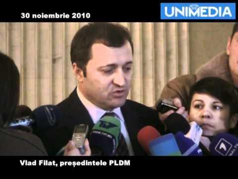 Vlad Filat despre posibilele Alianțe