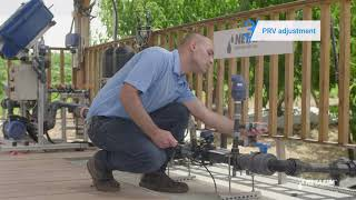 How to adjust a pressure reducing valve (PRV) | Netafim
