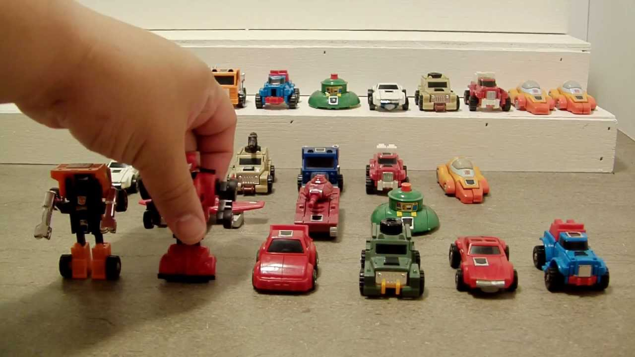 TRANSFORMERS Mini Bots Toy Collection And