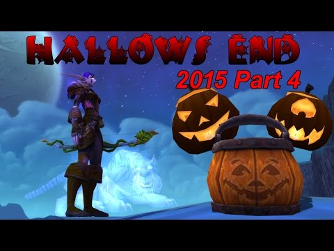 WoW:Hallows End, 2015 Day 4