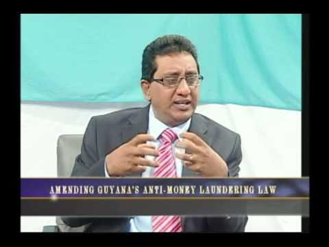 Amending Guyana's Money Laundering  Law