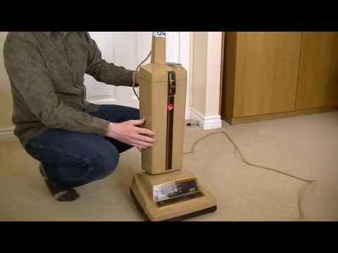 Vintage Electrolux 560 Electronic Upright Vacuum Cleaner With A Shocking Surprise!