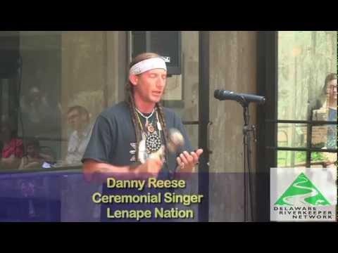 Delaware Riverkeeper Network video Lenape Nation Wampum Event Ceremonial song