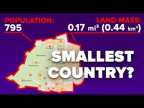 What Is Life Like In The Smallest Country In The World?