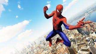 Spider-Man PS4 - The Raimi Suit Combat & Free Roam Gameplay