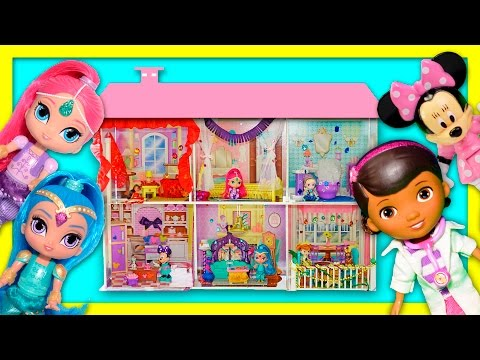 DISNEY And NICKELODEON  Design and How To Make Shimmer and Shine + Minnie Mouse + Elsa Bedroom Video