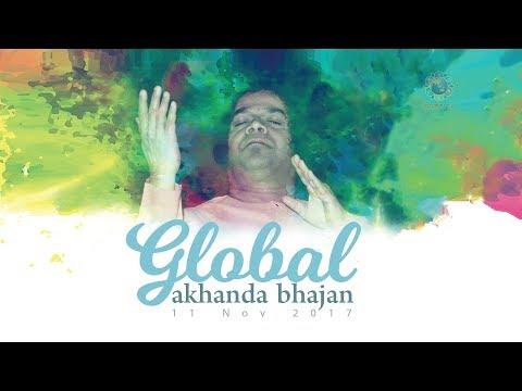 Conclusion of the Global Akhanda Bhajan at Sai Kulwant Hall, Prasanthi Nilayam - 12 Nov 2017