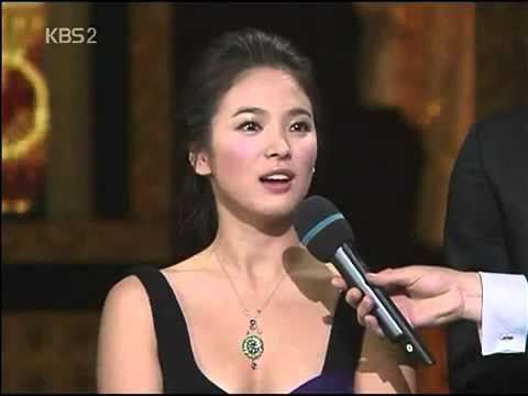 Rain 041231 2004 KBS Drama Awards The Best Couple Award