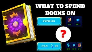 SPENDING BOOKS!!! PRIORITIES! Might and Magic Elemental Guardians MMEG