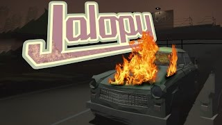 MY RUSSIAN CAR - Jalopy Gameplay