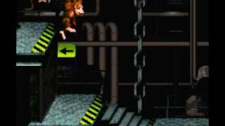 Lets Play Donkey Kong Country - Part 10 - Idiot Drum