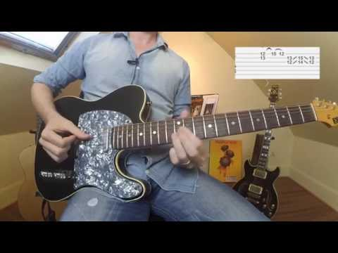 6 Great R&B Rhythm Guitar Fills You Must Know