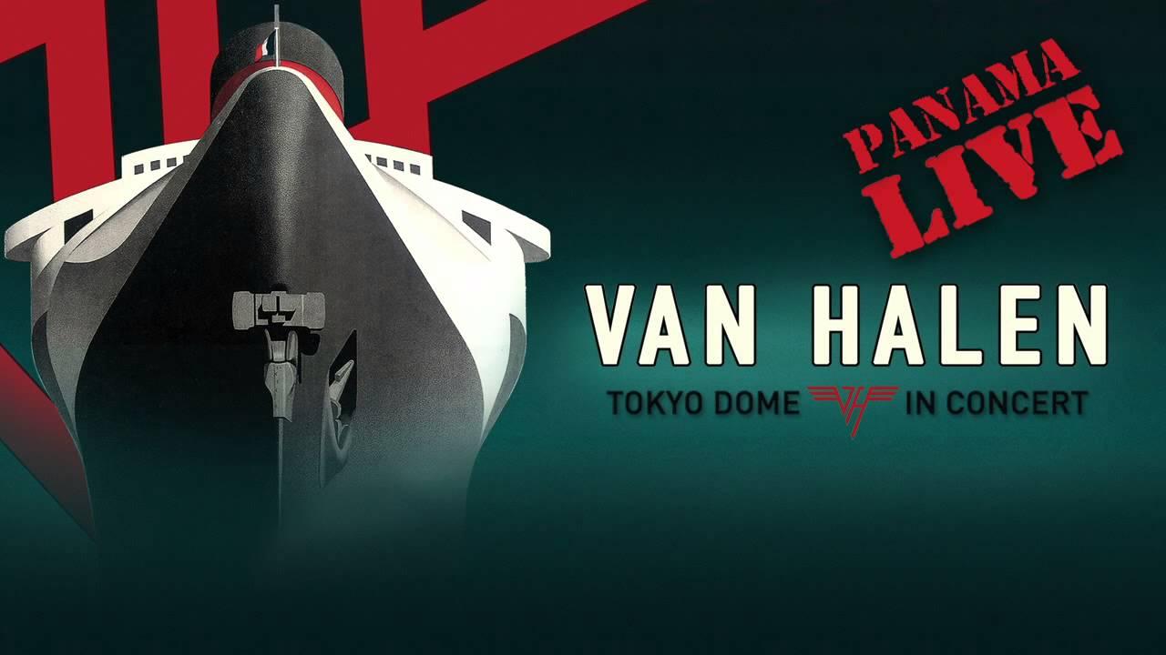 Van Halen Panama Live Official Audio Youtube