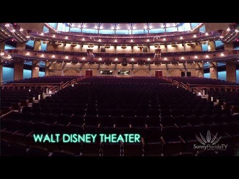 Dr Phillips Center Walt Disney Theater Sunny Florida TV
