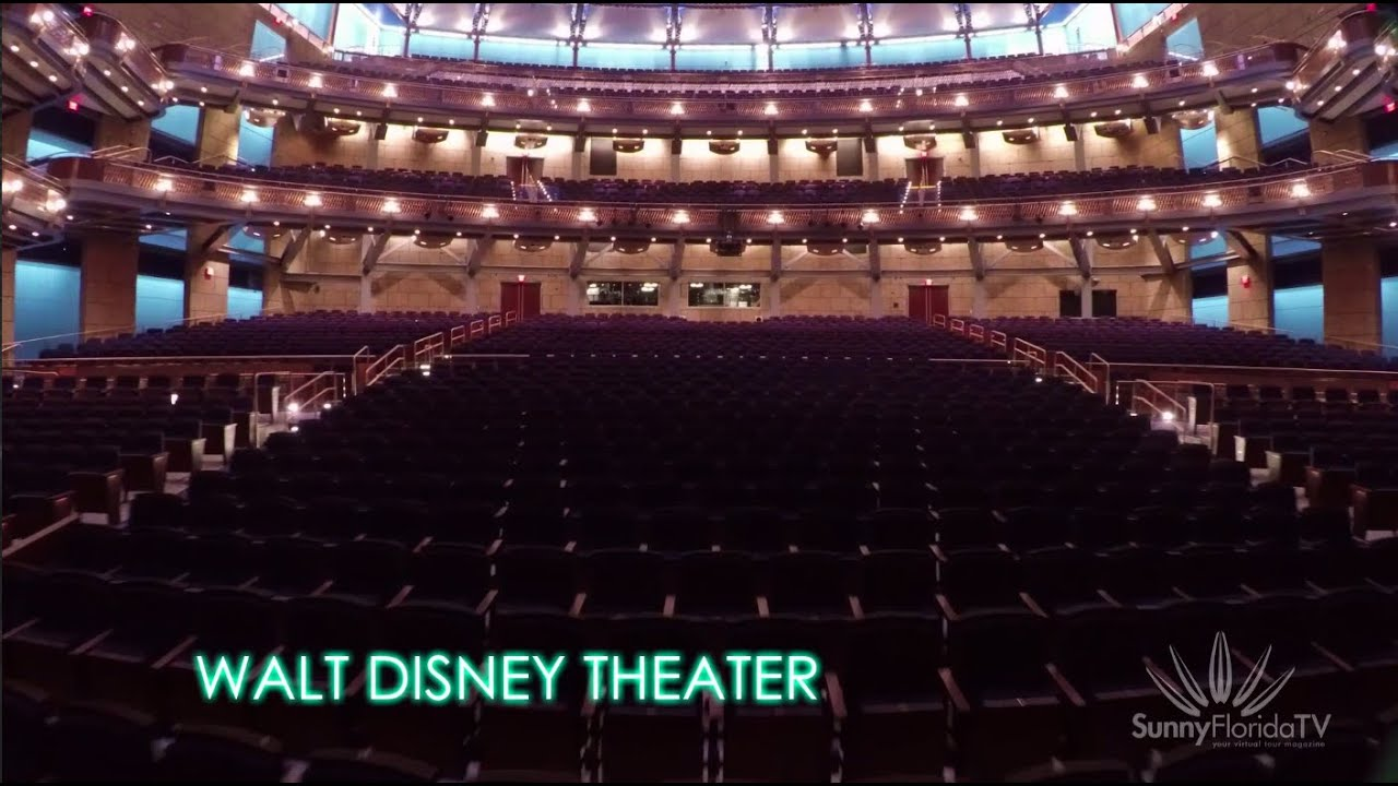 Dr Phillips Center Walt Disney Theater Sunny Florida Tv Youtube