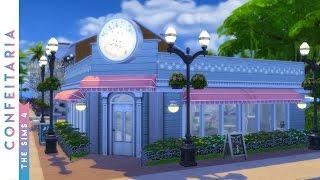 Construindo uma Confeitaria | The Sims 4