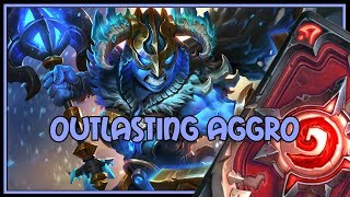 Hearthstone: Outlasting aggro (fatigue warrior)