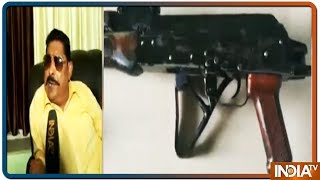 Watch MLA Anant Singh's reaction after getting caught with possession of AK 47