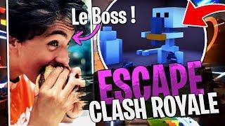 Grosse surprise sur cette map Escape Game Clash Royale avec la Team Croûton sur Fortnite Créatif !