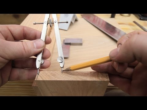 How To Layout Dovetails With Dividers