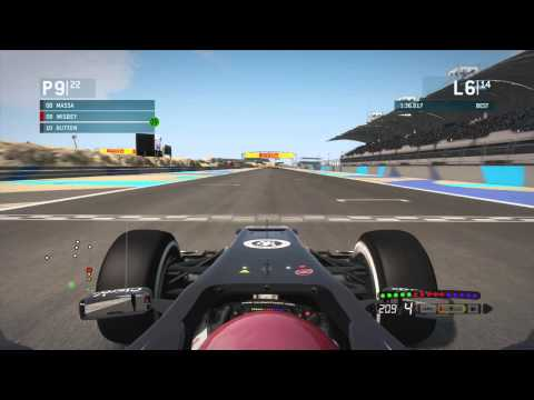 F1 2013: Career Mode Part 4: Bahrain (inc. Setup)