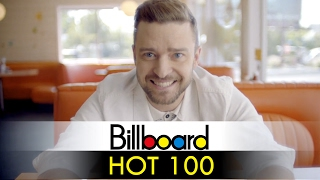 justin timberlakes billboard hot 100 chart history 1998   2017