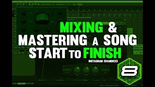 Full in Depth Mixing & Mastering Process in Mixcraft 8 | @Iamdices