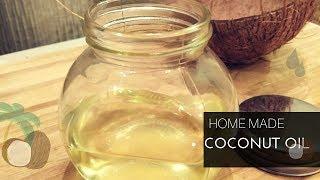 Coconut oil at home/Homemade Coconut oil/Sivakasi Samayal/ Recipe - 550