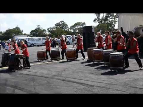 Auckland Japan Day 2012 - Waitaiko Japanese Drums Club Part 4