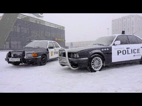 БИТВА ПОЛИЦЕЙСКИХ ТАЧЕК / BMW vs FORD