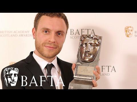 David Elliot wins the award for film actor | BAFTA Scotland Awards 2015