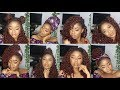 14 Ways To Style curly Box Braids Quick, Easy and Stylish 2018 / Style Curly Box braids