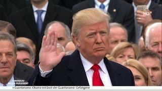 Amtseinführung und Vereidigung von Donald Trump - deutsch