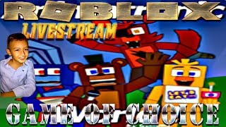 Roblox Live Stream by Steven come and play Roblox of Choice with me!