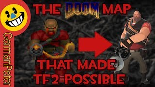 The DOOM Map That Inspired Team Fortress: FORTRESS.WAD