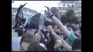 Muse singalong - Trafalgar Square 2007