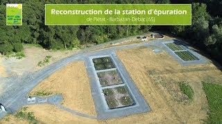 Reconstruction de la station d'épuration (STEP) de Piètat - Barbazan-Debat - 65 - Hautes-Pyrénées