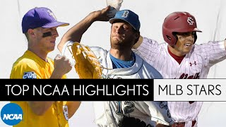 2020 MLB stars and their college baseball highlights